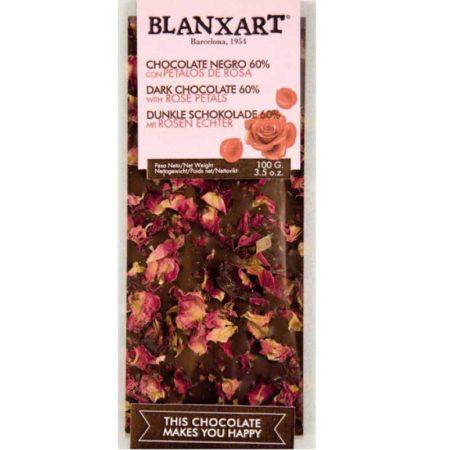 puur met rozenblaadjes 60%