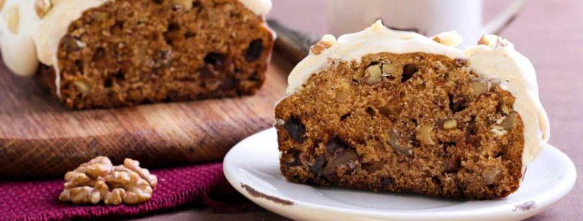 Dadel-walnoten broodcake