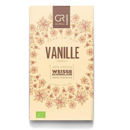 Witte chocolade met Vanille 42 BIO