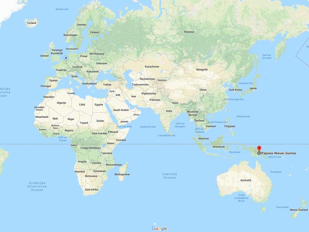 Papoea Nieuw Guinea vanille