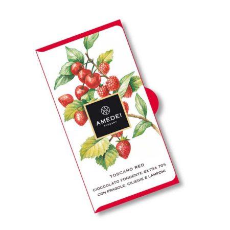 Toscane Red Pure Chocoladereep met Rood Fruit