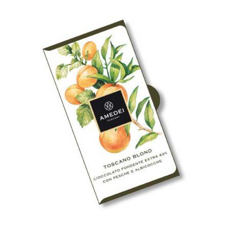 Toscano Blond Pure Chocoladereep met Geel Fruit