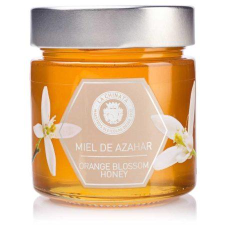 honing met oranjebloesem