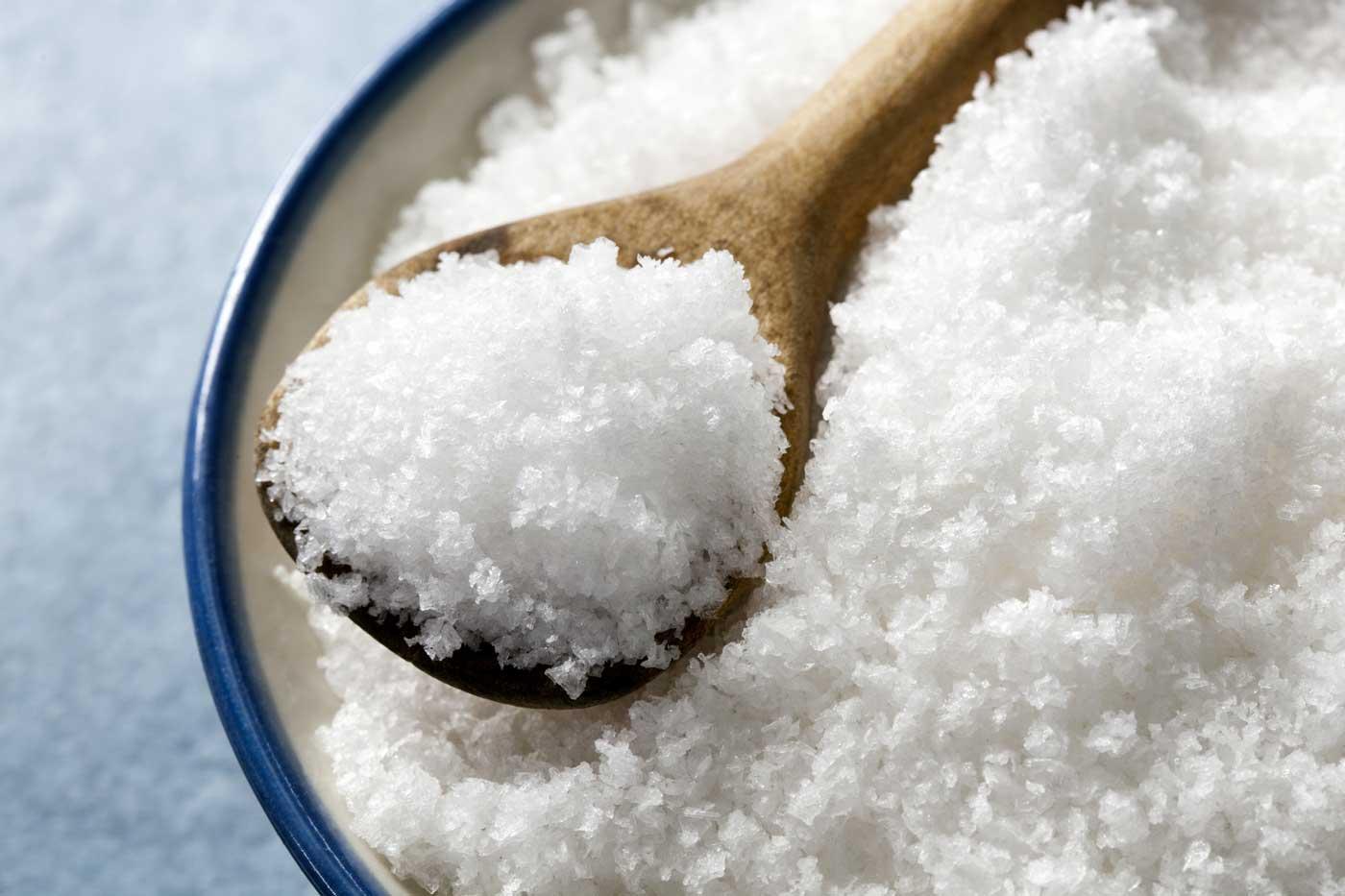 zout vlokken