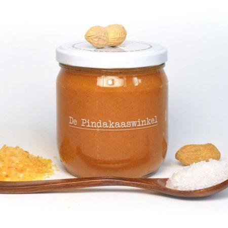 Karamel Zeezout Pindakaas