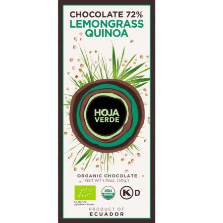 Hoja Verde Citroengras & Quinoa 72% BIO