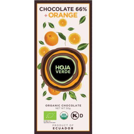 Hoja Verde Sinaasappel 66% BIO