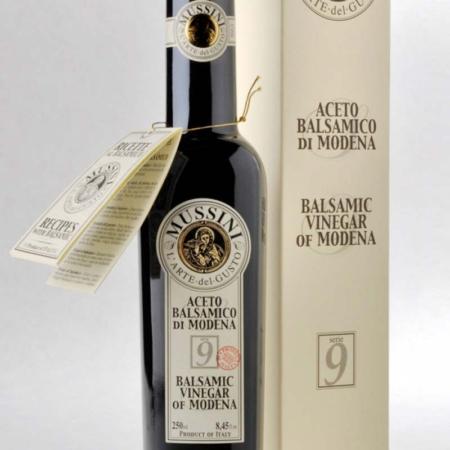 Mussini balsamico 3 munten 9 jaar