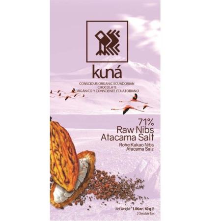 Kuná zout en raw nibs BIO