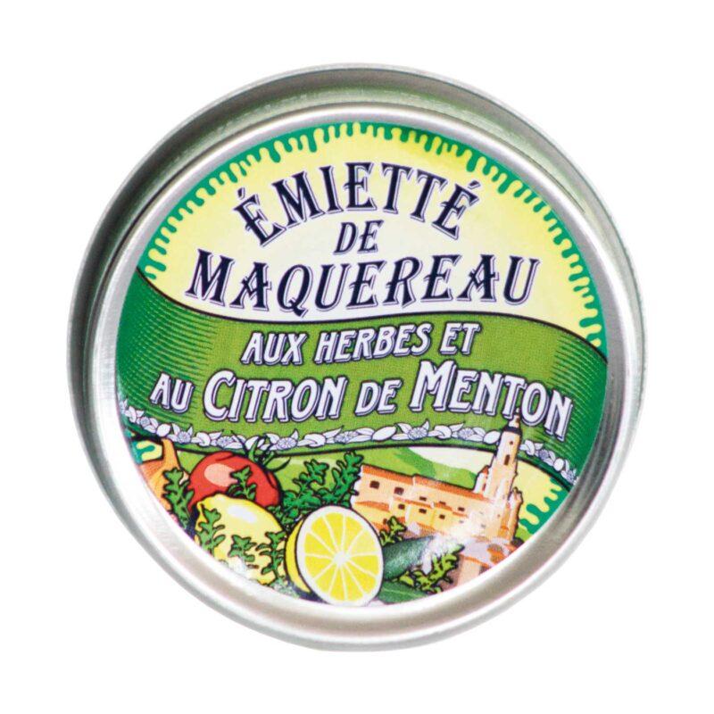 Emietté van Makreel met kruiden en Menton Citroen
