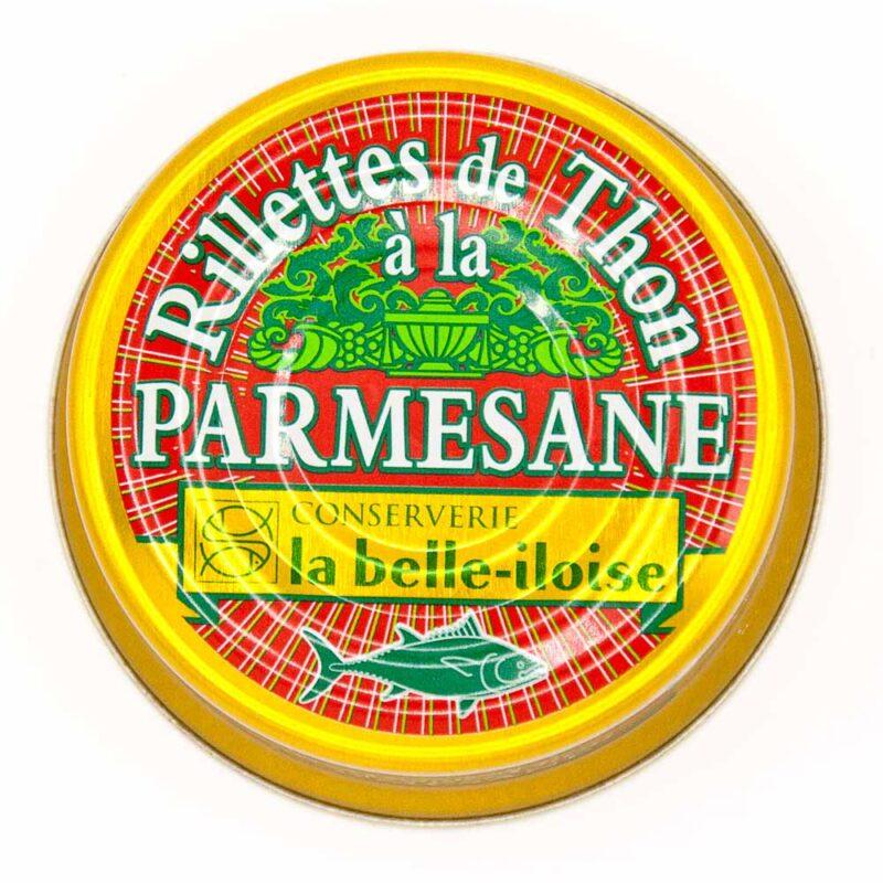 Rillettes van tonijn met Parmezaanse kaas