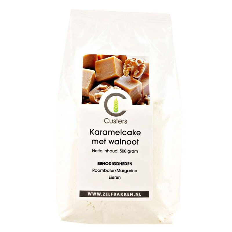 Cakemix Karamel Walnoot