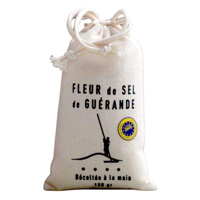 Fleur de sel de Guérande Katoenen Zakje