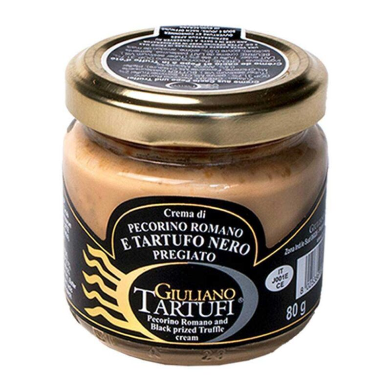 Zwarte Truffelcrème met Pecorino Romano